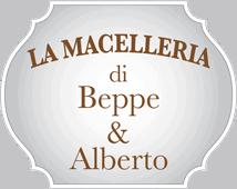 Beppe & Alberto Macelleria Logo