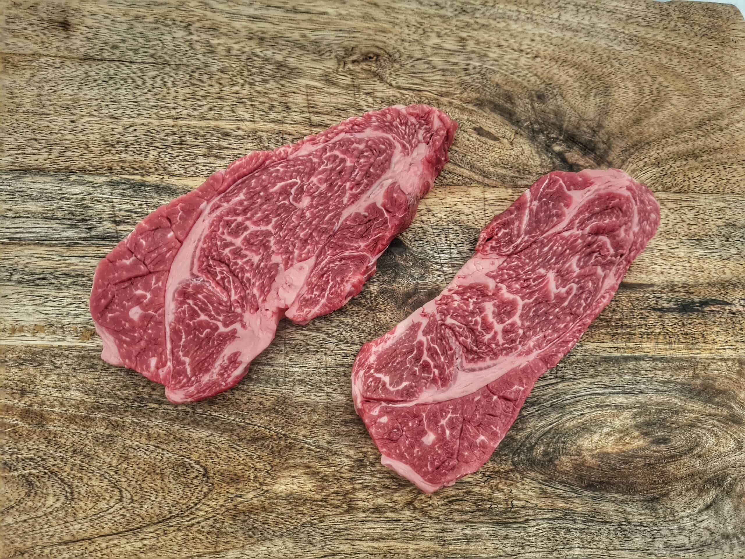 Chuckroll steak wagyu