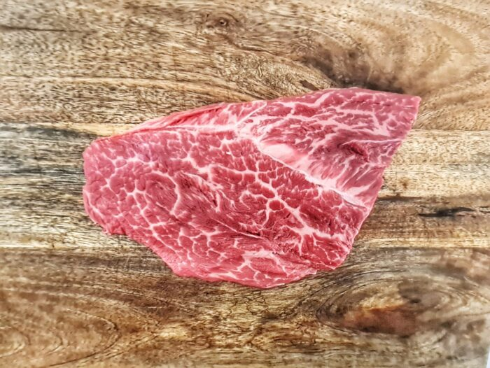flat iron steak black angus