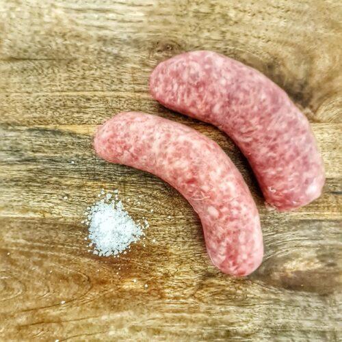 Salsiccia al sale di cervia